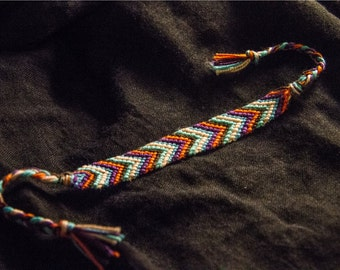 "Friendship Bracelet ""Sunrise"""