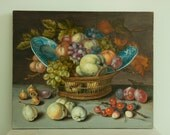 """painting Copie ofby Baltasar van Der Ast  """"The Basket whith fruts"""""""