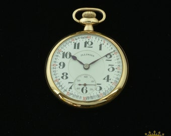 Illinois Bunn Special Pocket Watch 1920