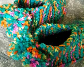 Handmade Knit Sock Booties