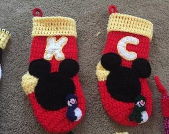 Mickey Mouse Christmas Stocking