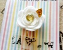 Flower planner clip ~ stationery ~ planner accessories ~ bookmark