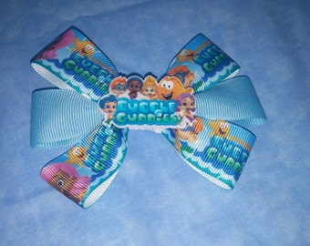 bubble guppies bow