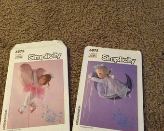 2 moon babies simplicity patterns