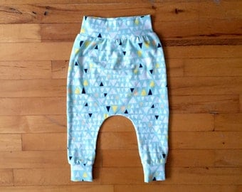 Trousers harem narrow, 0 to 24 months