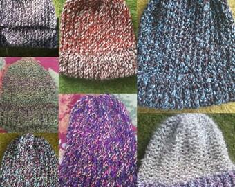 Multi-color Knit Hat