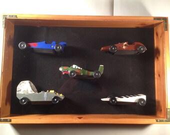 Cub Scout Pinewood Derby Car Display Case