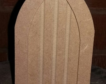 Blank MDF wood fairy door ideal for craft