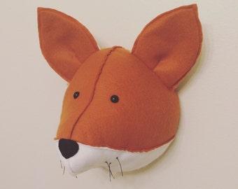 Fox Felt Head