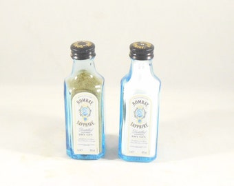 Bombay Sapphire Salt and Pepper Shakers