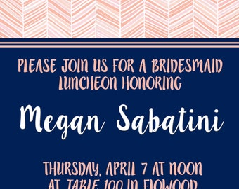 Bachelorette Party - Wedding - Bridal Shower - Invitation