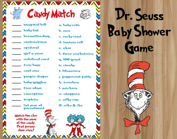 dr seuss baby shower game seuss baby shower game dr seuss baby dr
