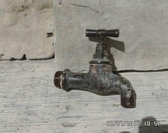Antique Brass Tap Water Faucet Brass Spigot Water Spigot Brass Tap