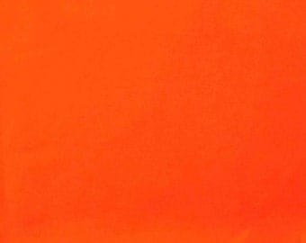 Lake country - with a breathable polyurethane coating color: Neon-Orange - 0.5 m
