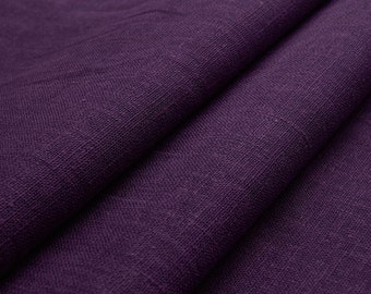 Organic linen (purple) - 0, 5m