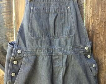 Vintage 90s gray gap overalls medium