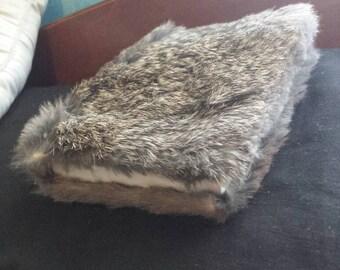 Rabbit Fur Bound Sketchbook