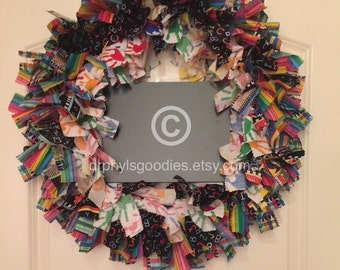 School Days Wreath