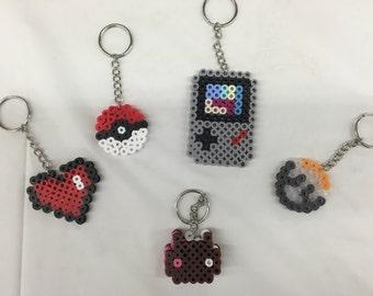 Perler Bead Keychains