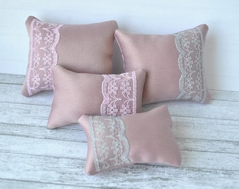 Handmade set of 4 pillows for Barbie,Blythe,Monster High,Ever After High