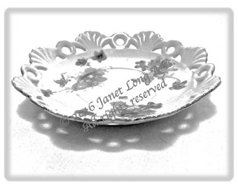 "INSTANT DOWNLOAD, Adult Page, Vintage ""SAUCER"" grayscale photo"
