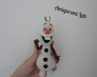 Olaf-Frozen amigurumi crochet