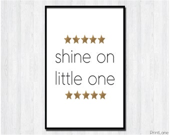 Shine on Little One Digital Download Kids