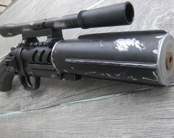 Boba Fett blaster custom Star-Wars
