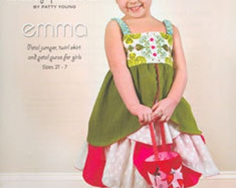 ModKid - Emma - Paper Sewing Pattern for Little Girl's Dress