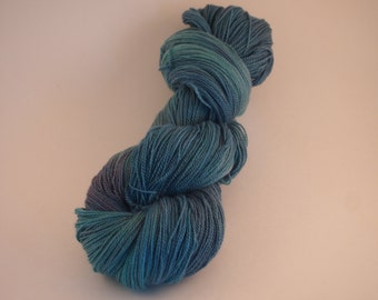 Aegean Sea - Daisy Lace - Hand Dyed Yarn