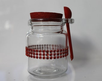 Valentines mini jar