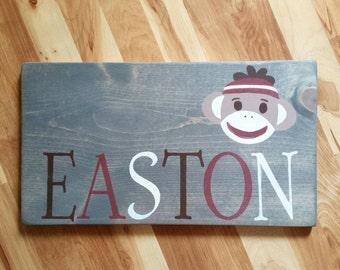 Nursery Sign,Custom Name Sign, Wood Name Decor, Kids Room, Baby Gift