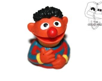 Sesame Street vintage 1987 Ernie finger puppet