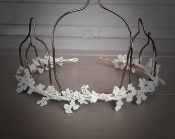 Janay flower crown