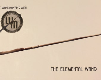 """The """"Elemental Wand"""" - from The Wanamaker's Wish (Item #106)"""