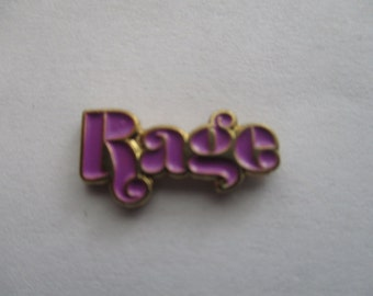 Purple Rage Hat Pin