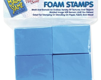Magic Stamp Moldable Foam Stamps 8 pezzi NM-MS10201