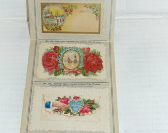 Victorian Calling Cards Salesman Pack