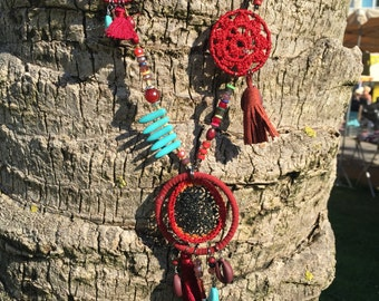 Chic bohemian necklace