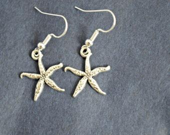 Starfish Earrings, Starfish Jewellery, Beach Jewelry, Mermaid Jewellery, Beach, Seaside