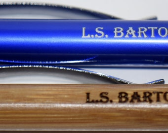 Laser Engraved Pen with Stylus