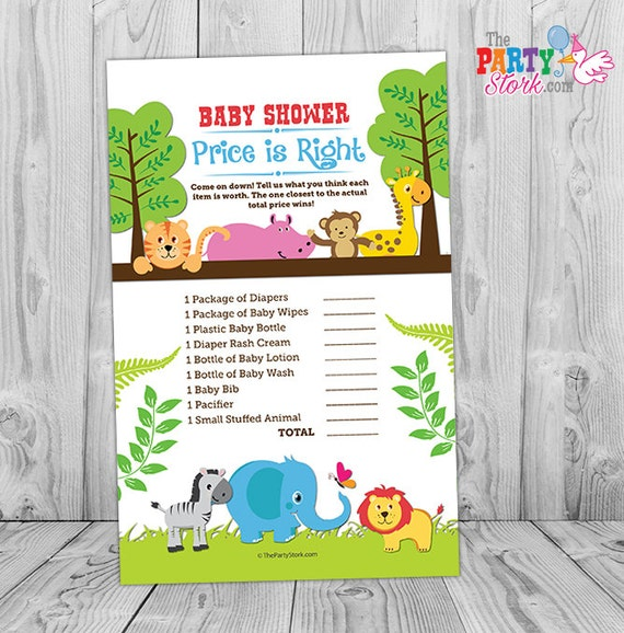 safari baby shower game printable jungle themed baby shower game