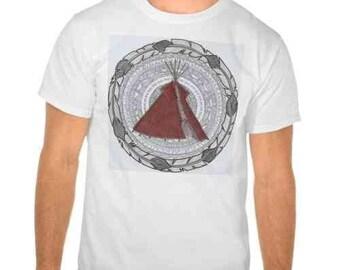 Mandala t-shirt man Tipi