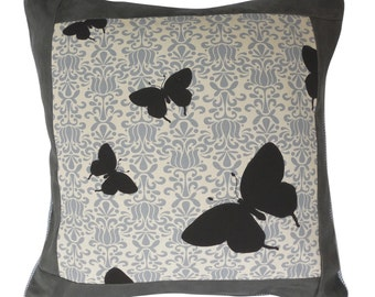 Decorative pillow–Butterflies