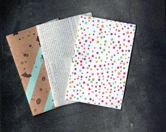 16pg Mini Notebook (BLANK) 7x5cm