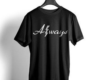 Always 2 Harry Potter unisex T-Shirt magic spell Muggles Hogwarts Wizard tea