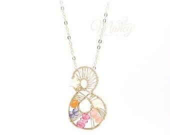 Gemini Handmade Constellation Necklace