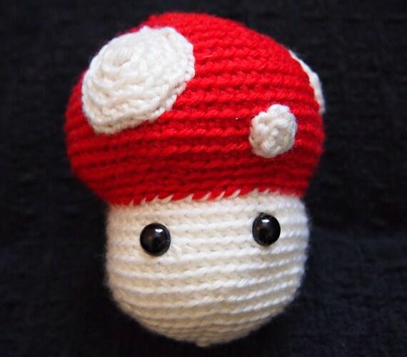 Amigurumi Crochet Mushroom : PATTERN Amigurumi Mushroom Crochet Mushroom Pattern Plush