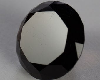 Natural Dark Smoky Quartz, Round Mixed Cut, 16.38ct