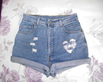 Customised Levi Shorts